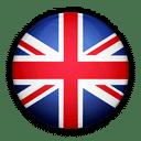 Flagge von England zur Kennzeichnung der Service Sprache.