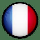 Flagge von Frankreich zur Kennzeichnung der Service Sprache.