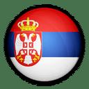 Flagge von Serbien zur Kennzeichnung der Service Sprache.